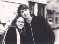 Met mijn zus Eugeni en haar vriend Herman in Amsterdam.