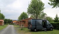 Op de Acsi-camping in Montbrison.
