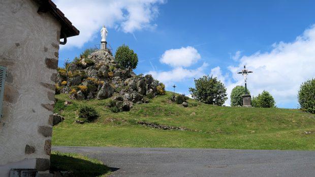 De rots van de Heilige Maagd.