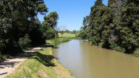 Een rustig plekje langs het beroemde kanaal.