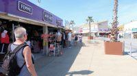 Winkelstraatjes in Marseillan-Plage