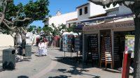 Winkelstraatjes in Saintes-Maries-de-la-Mere.