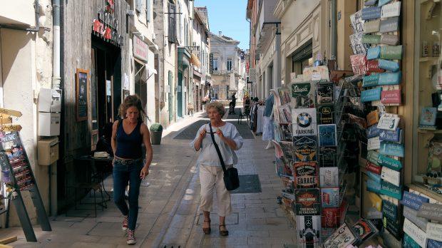 Middeleeuwse straatjes in Saint Rémy.