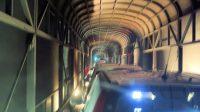 Onderweg in de tunnel!