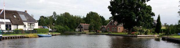 De Arembergergracht, het hoodskanaal met vele mooie (en dure!) woningen...