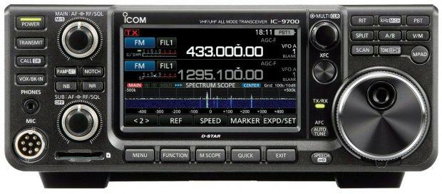 De lang verwachte en pas in februari op de markt gekomen IC-9700.