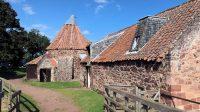 De oude watermolen Preston Mill.