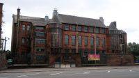 Voormalige basisschool naar een ontwerp van Mackintosh. Nu een schoolmuseum.
