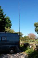 Zo, de antenne staat weer overeind!