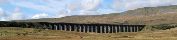 Spoorlijn door de Yorkshire Dales.