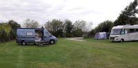 De simpele camping bood een prima nachtrust, op wandel/fietsafstand van York Centrum.