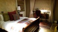 Onze kamer 'en suite' zoals de Engelsen dat graag hebben.