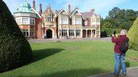"""De 'Bletchley Park Mansion"""", het hoofdkwartier van deze geheime militaire operatie."""