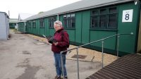 De barakken, waar op het eind van de oorlog talloze medewerkers de geheime codes ontcijferden.