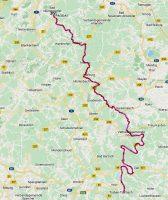 Dinsdag 29 oktober 2019, van Enkirch naar Bad Münstereifel.
