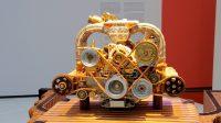 Fries Museum: Een Alfa Romeo motorblok in Marokko omgebouwd tot kunstwerk! (foto van de telefoon)