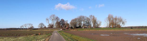Oud Kraggenburg, een voormalig eilandje met een vuurtorenwoning erop. We hadden er nog nooit van gehoord!