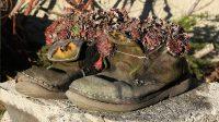 Als je niet meer weet wat je met je oude schoenen moet doen...
