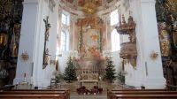 Wallfahrtskirche Herrgottsruh, interieur.