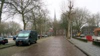 De camperplaats op de Turfmarkt in Zwolle. Een rustige plek...