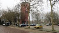 Op de Turfmarkt vind je ook de bekende Zwolse watertoren. In 2018 verbouwd, nu voorzien van een aantal appartementen in én om de bovenkant van het gebouw.