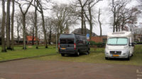 Op de camperplaats in Heerde.