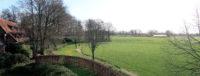 Ons uitzicht over het Twentse landschap.