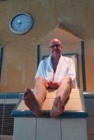 Verwarmde zitplaatsen in het zwembad!