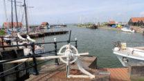De haven van Hindeloopen.