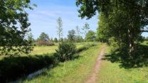 Fries landschap, omgeving Drachten.