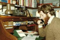 Zwolle 1980: de Kenwood R1000 ontvanger, er bovenop de kleine TR2300.