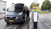 Nog even wat diesel erbij voor net geen € 1,08. Volgende keer in Luxemburg voor ca. € 0,90?