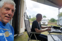 Peter PA2PME, actief in de 40m-band.