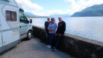 Femma, Lidy en Peter bij het Lac du Bourget.
