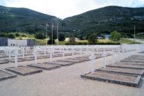 Talloze graven van verzetsstrijders, omgekomen op één dag.