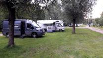 Camperplaats Dreiländer See bij Gronau, net over de grens.