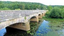 De oude brug over de Maas...