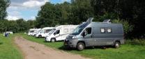 Opnieuw op de camperplaats Am Dreiländersee.