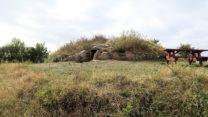 Het 5.000 jaar oude Hulbjerg Ganggraf uit de Steentijd.