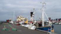 De haven van Bagenkop, het meest zuidelijke plaatsje.