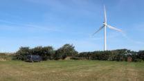 De dichtstbijzijnde windmolen.