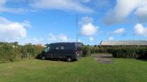 Op camping Nordstrand bij Frederikshavn.