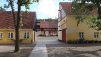 Oude Deense architectuur, nu een museum.