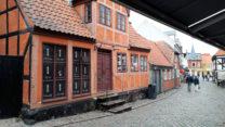Veel oude panden in dit ruim 700 jaar oude stadje.