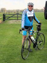 Jan Reint PA3DNA komt even langs op de fiets!
