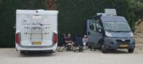 De France-Passion camperplaats bij wijboer Lauribert.