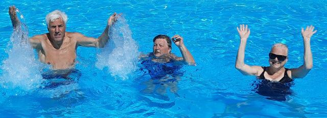 Zwemmen!!