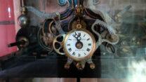 Het uurwerk van de klokketoren.