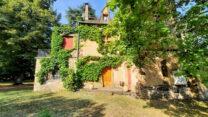 Villa Marthe, lijkt op een kasteeltje.
