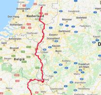 Deel 1: van Zwolle tot in noord-Frankrijk.